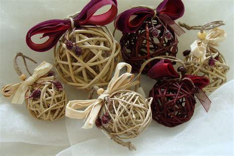decorative raffia balls christmas ornaments christmas decorations rustic