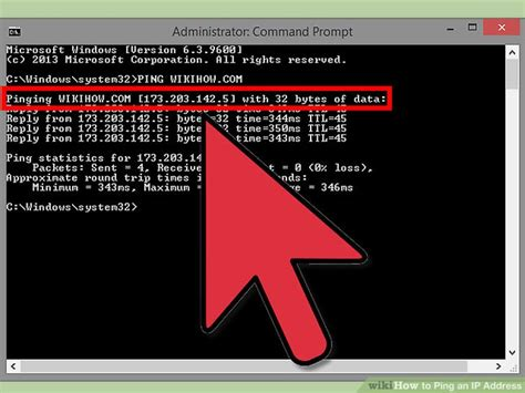 ping test cmd 4 ways to ping an ip address wikihow
