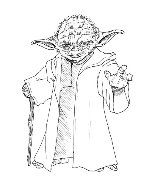 coloring pages for adults wars wars yoda drawing search things to draw