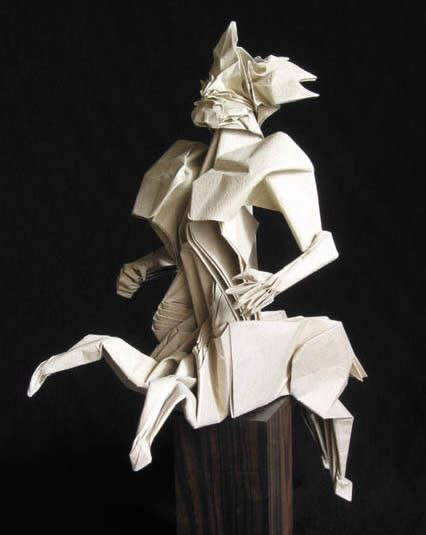 origami 15 most amazing paper sculptures oddee