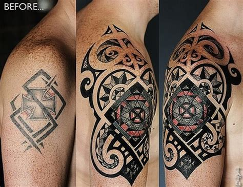 cover up tattoo designs for men 63 wonderful cover up shoulder tattoos