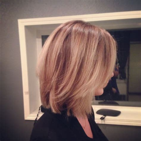pictures of slightly layered bob for mature women long angled bob hairstyles long angled bob aveda color