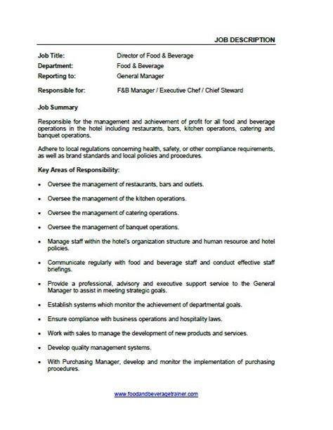 food and beverage manager resume sle telemetry resume description 28 images telemetry