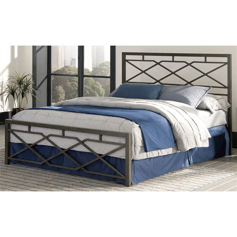 fashion bed group alpine metal sn p bed beds at hayneedle