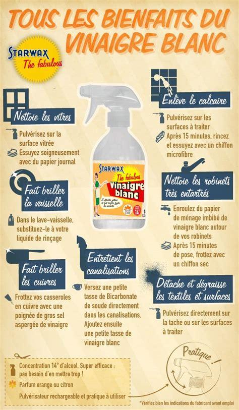 Nettoyant Sol Vinaigre Blanc Bicarbonate by Tous Les Bienfaits Du Vinaigre Blanc Starwax