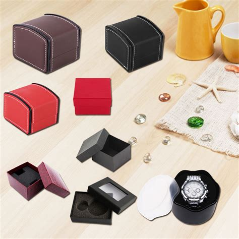 Diskon Gift Box Charm practical jewelry box gift boxes for bracelet earrings with foam pad gift boxes