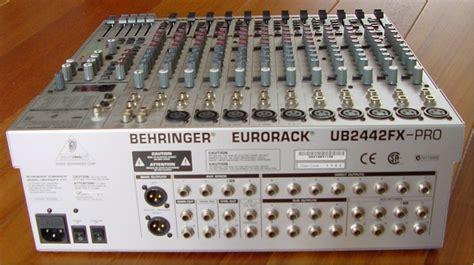 Mixer Behringer Eurorack Ub2442fx Pro behringer eurorack ub2442fx pro image 582927 audiofanzine