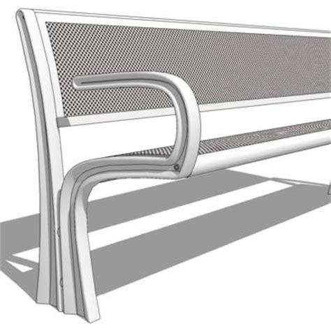 landscape forms benches landscape forms bench 3d model formfonts 3d models textures