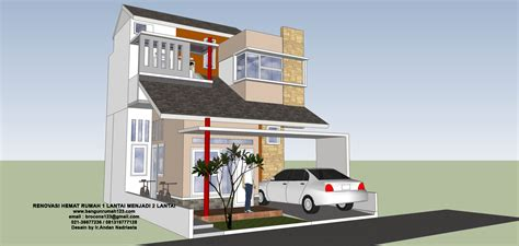 membuat rumah tingkat desain rumah tingkat belakang hasil gambar untuk cara