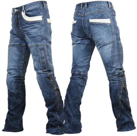Motorrad Jeans Kevlar by Motorrad Jeans Blue Ce Protektoren Kevlar Premium Biker