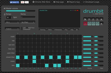 Drum Rhythms Online | make drum beats online wowkeyword com