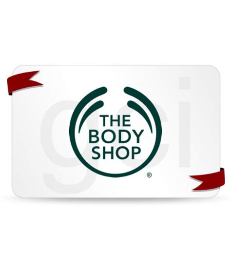 The Body Shop Gift Card - buy the body shop gift card 500 online on snapdeal