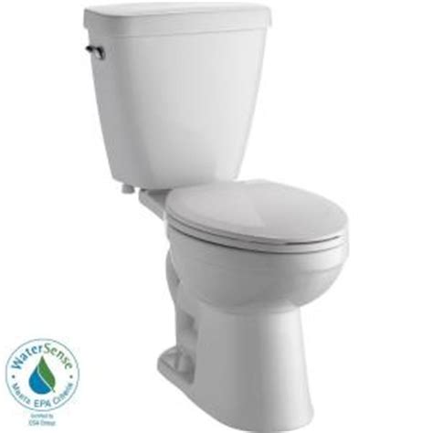 delta prelude 2 elongated toilet in white c43901