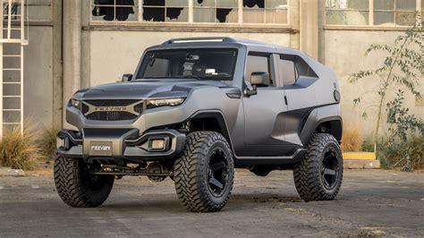 Rezvani Tank Is A Jeep Wrangler Based Road Menace