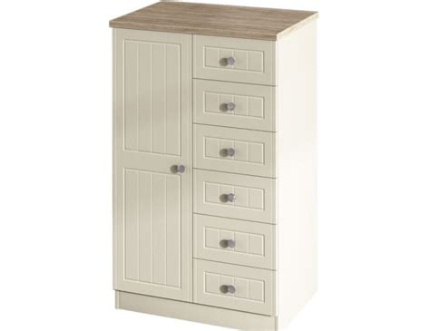 Childrens Wardrobes With Drawers by Levante Two Tone Childrens Wardrobe With Drawers