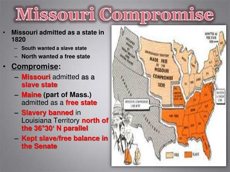 missouri compromise sectionalism ppt nationalism sectionalism powerpoint presentation
