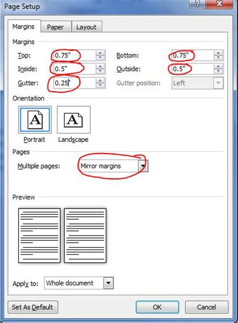 microsoft word page layout side by side book design archives blitzprint com
