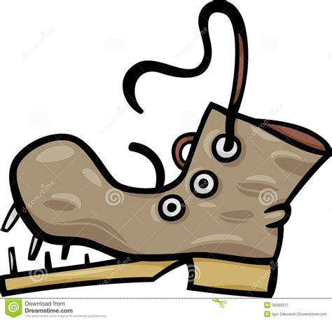 broken boat cartoon old shoe or boot cartoon clip art royalty free stock