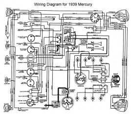 1939 mercury wiring diagram flathead engine electrical