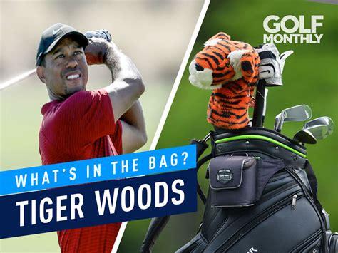 tiger woods whats   bag  time major winner