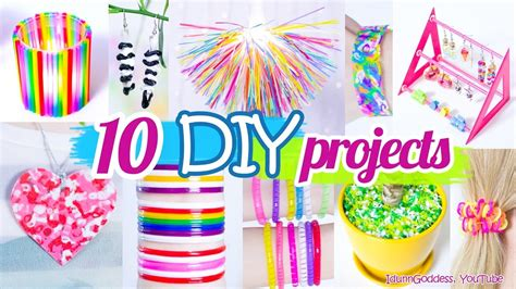 diy home craft ideen 10 diy projects with straws 10 new amazing