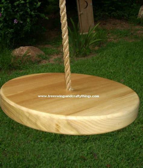 disc tree swing disc wood tree swings