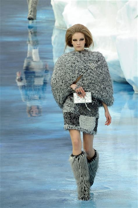 Global Warming Speeding Up Fashion Seasons by Lagerfeld Chanel Jumping The Shark With Global Warming