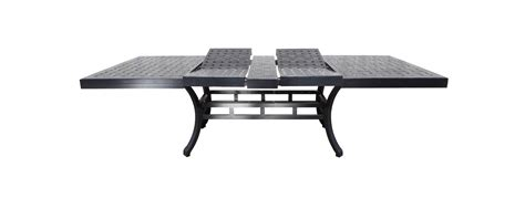 cast aluminum extendable patio table shop patio