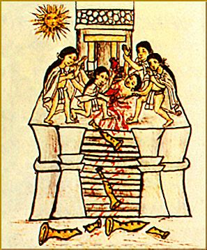 imagenes sacrificios mayas historia sacrificios