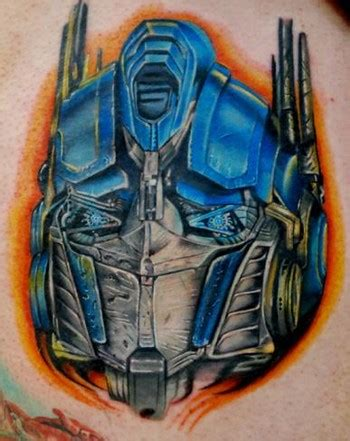optimus prime tattoo optimus prime by timothy b boor tattoonow