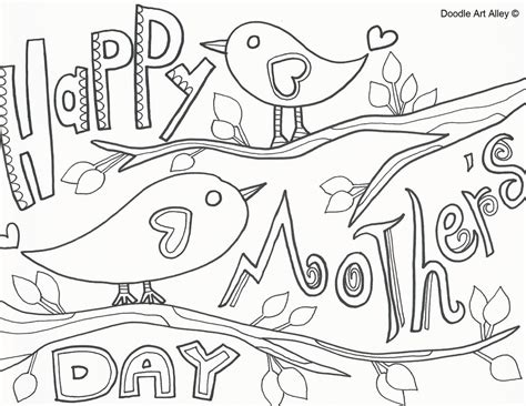 happy mothers day coloring pages printable coloring image