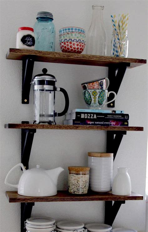 decorative kitchen wall shelves best decor things keep everything at hand with kitchen wall shelves best