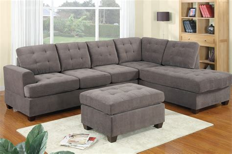 Grey Sectional Sofa by Gray Sectional Sofa With Chaise Luxurious Furniture
