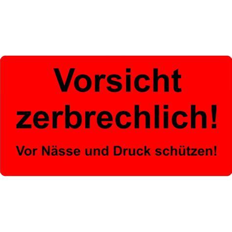 Aufkleber Paket Zerbrechlich by Sk Etikett 150x50mm Quot Vorsicht Zerbrechlich Quot 1 000 St 252 Ck