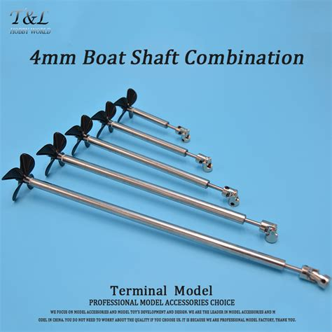 boat shafts and props aliexpress buy 4mm boat shaft four blades propeller