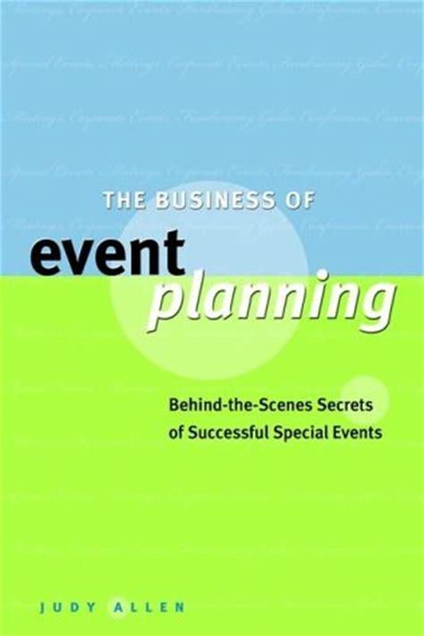 Ebook Event Management8 the business of event planning ebook pdf judy allen buecher de