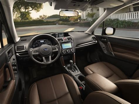subaru forester interior 2017 subaru forester priced at 22 595 the wheel