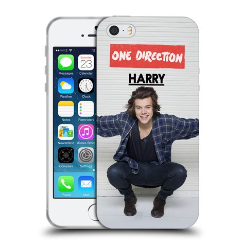 Soft Iphone 44s55s66s66s Sam official one direction 1d harry styles photo soft gel for apple iphone 5s ebay