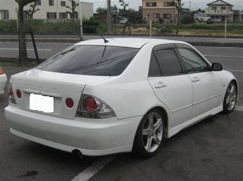 toyota altezza rs200 toyota altezza rs200 picture 5 reviews specs