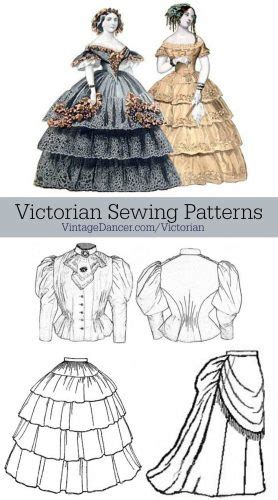 victorian pattern name victorian sewing patterns dress blouse hat coat skirts