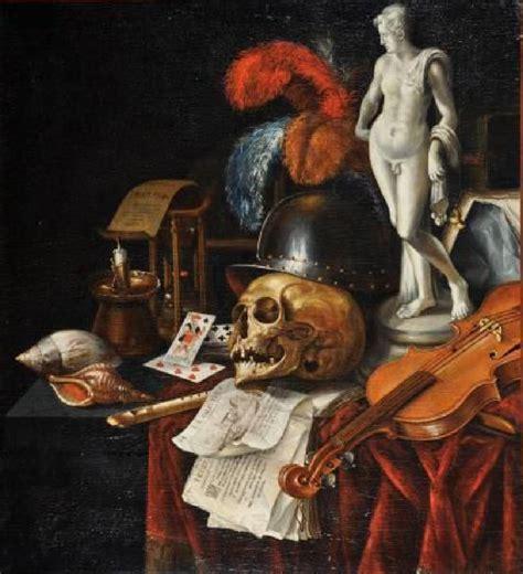 Vanite Peinture by Debat Figuration J 233 R 244 Me Madeleine