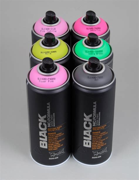 spray paint accessories montana black spray paint deal 6 cans spray paint