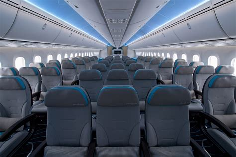 an inside look at the third 787 dreamliner s new interior