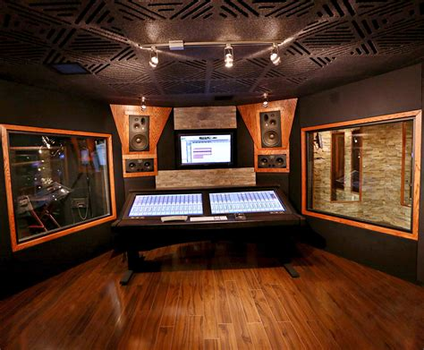 home studio wall design acoustic windows soundproof glass windows acoustical