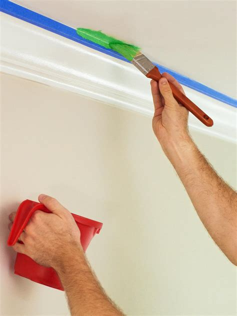 brush the edges your roller won t be able to reach in all