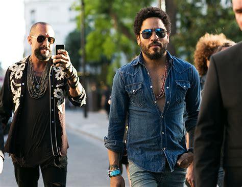 Tshirt Rock Lenny Kravitz how to get lenny kravitz style