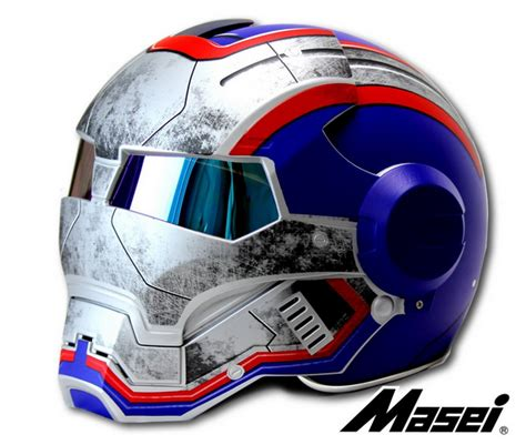 Handmade Iron - custom motorcycle helmet conversions how to make an iron