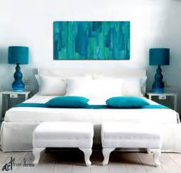 Teal Blue Home Decor by Wall Art Designs Abstract Canvas Wall Art Abstract Floral