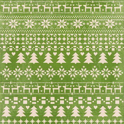 sle of green card miss kate designs fair isle digital paper for