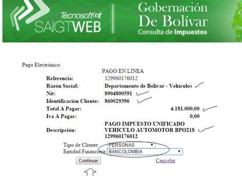 pago de impuestos vehicular pago de impuesto vehicular en linea